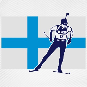 Biathlon - cross country skiing - skiing - ski Tank Tops - Baseball Cap