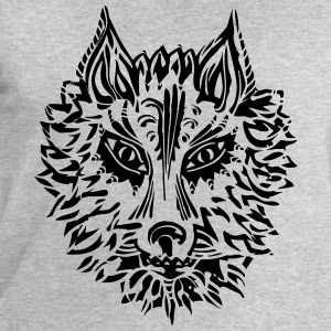 Wolf, symbol of loyalty and strength, Animal Totem T-shirts - Mannen sweatshirt van Stanley & Stella