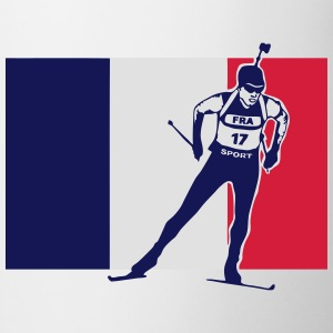 Biathlon - cross country skiing  - France Tee shirts - Tasse