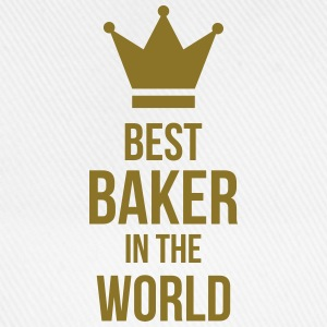 Best Baker in the World Kopper & tilbehør - Baseballcap