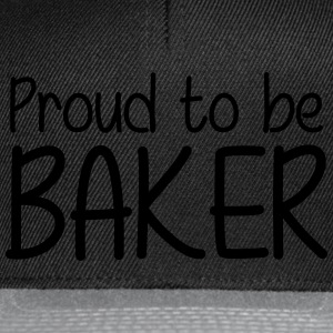Proud to be Baker Forklær - Snapback-caps