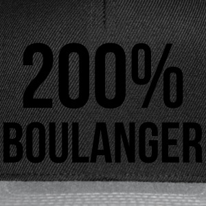 200% Boulanger Tee shirts - Casquette snapback