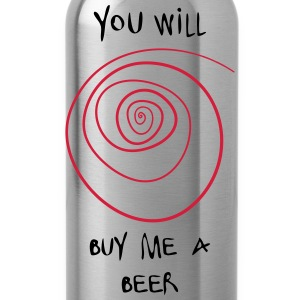 buy me a beer Tops - Trinkflasche