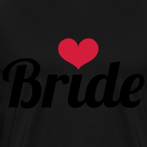 Bride - Wedding Kookschorten - Mannen Premium T-shirt