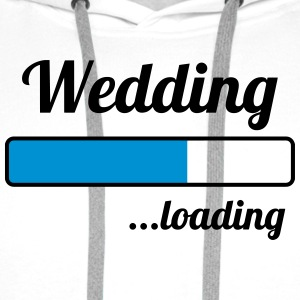 Wedding ...loading Tee shirts - Sweat-shirt à capuche Premium pour hommes