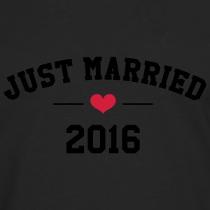 Just Married 2016 -  Wedding T-Shirts - Men's Premium Longsleeve Shirt