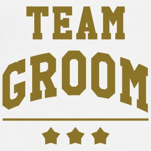 Team Groom - Wedding Gorras y gorros - Camiseta premium hombre