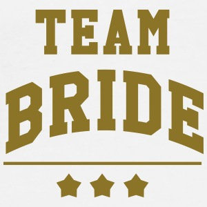 Team Bride - Wedding Petten & Mutsen - Mannen Premium T-shirt