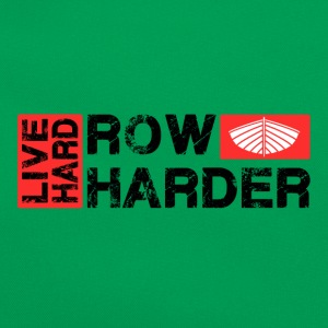 Live Hard Row Harder - Retro Bag