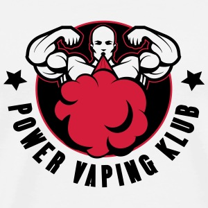 BADGE POWER VAPING KLUB - T-shirt Premium Homme