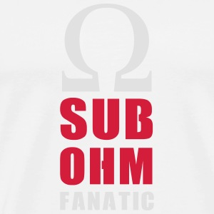 SUB OHM FANATIC BADGE - T-shirt Premium Homme
