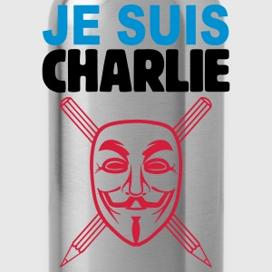 je suis charlie anonymous Tee shirts - Gourde