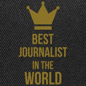 Best Journalist in the world T-Shirts - Snapback Cap