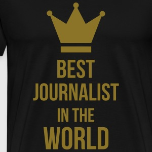 Best Journalist in the world Tabliers - T-shirt Premium Homme