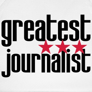 Greatest Journalist T-Shirts - Baseball Cap
