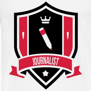 Journalist Sweaters - Mannen Premium T-shirt