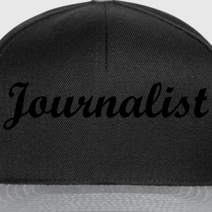 Journalist T-Shirts - Snapback Cap