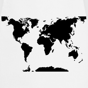 World map T-Shirts - Cooking Apron