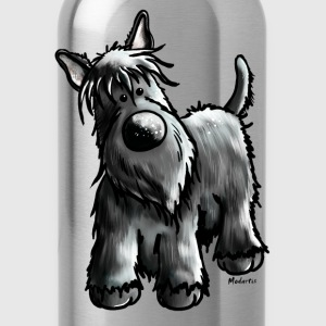 Funny Scottish Terrier T-Shirts - Water Bottle