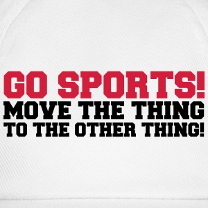 Go Sports! Hoodies & Sweatshirts - Baseball Cap
