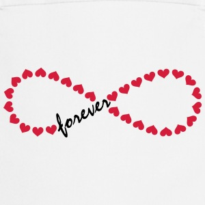Forever Love! Infinity, Heart, Valentine's Day,  T - Cooking Apron