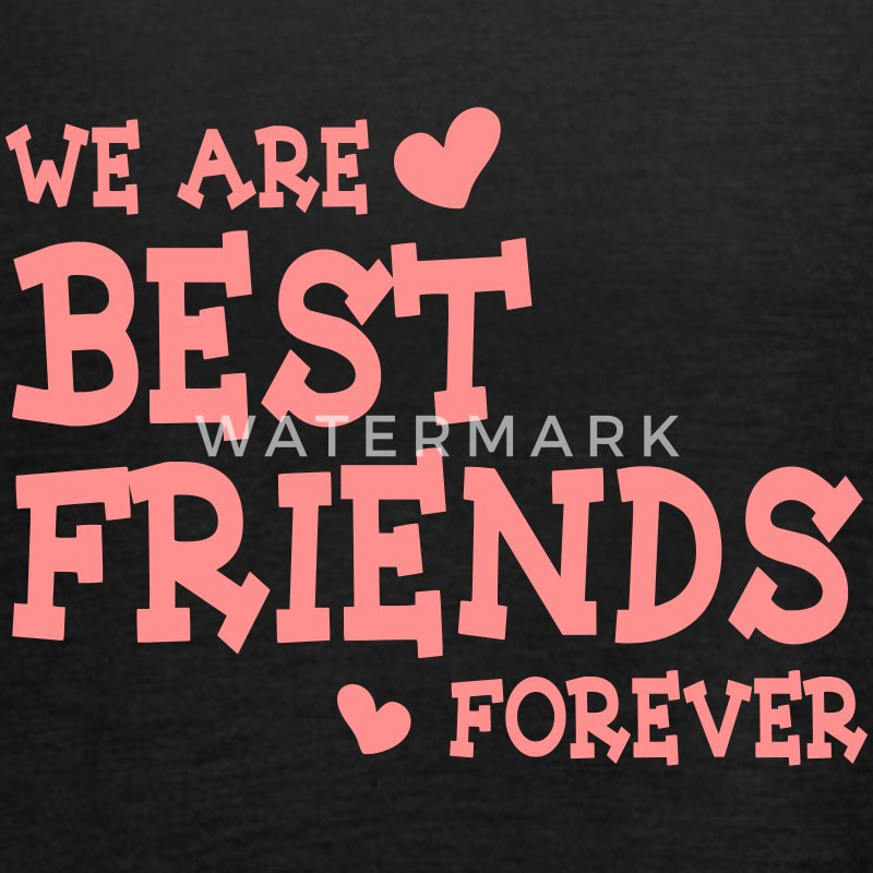 we are best friends forever ii 1c Tops - Camiseta de tirantes mujer, de Bella