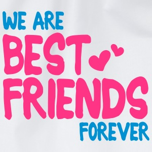 we are best friends forever i 2c Long Sleeve Shirts - Drawstring Bag