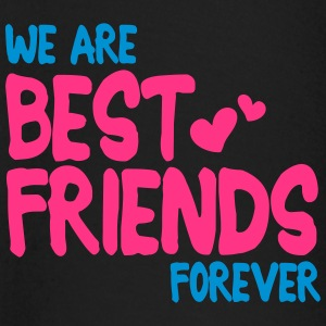 we are best friends forever i 2c T-shirts - Långärmad T-shirt baby