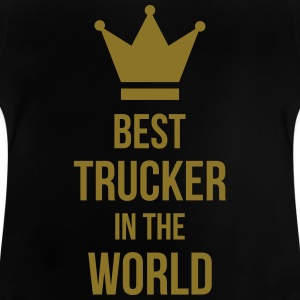 Best Trucker in the World T-shirts - Baby T-shirt