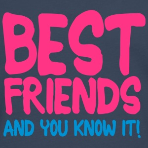 best friends and you know it ii 2c T-shirts - Herre premium T-shirt med lange ærmer
