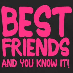 best friends and you know it ii 1c T-shirts - Herre premium T-shirt med lange ærmer