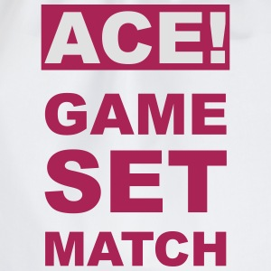 ACE! GAME SET MATCH - Turnbeutel