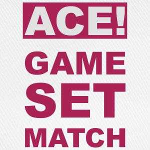 ACE! GAME SET MATCH - Baseballkappe
