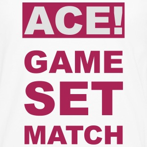 ACE! GAME SET MATCH T-Shirts - Men's Premium Longsleeve Shirt