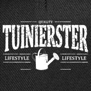 Tuinierster T-shirts - Snapback cap
