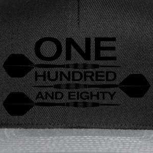 one hundred and eighty dart T-skjorter - Snapback-caps