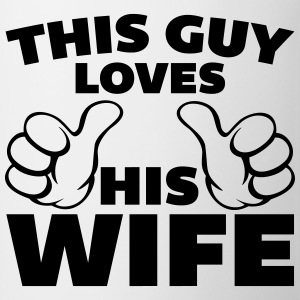 This Guy Loves Wife T-Shirts - Mug