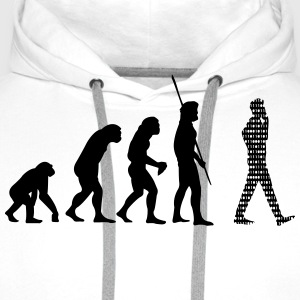Binary Evolution Cell T-Shirts - Men's Premium Hoodie