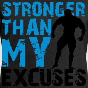 Stronger than my excuses T-skjorter - Sweatshirts for menn fra Stanley & Stella