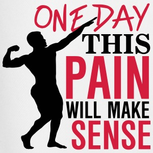 One day this pain will make sense T-shirts - Mannen voetbal shorts