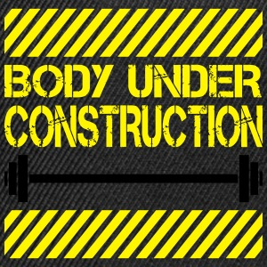 Body under construction T-Shirts - Snapback Cap
