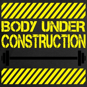Body under construction T-Shirts - Männer Sweatshirt von Stanley & Stella