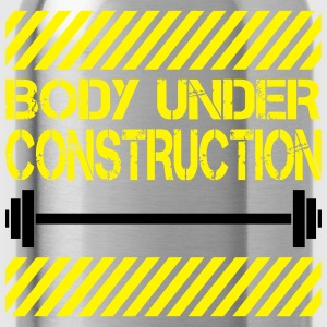 Body under construction T-shirts - Vattenflaska