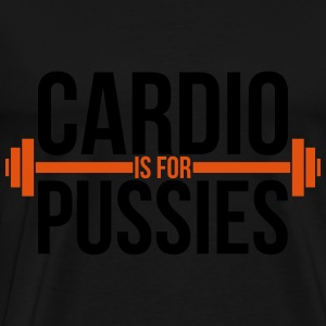 Cardio is for pussies Tops - Männer Premium T-Shirt