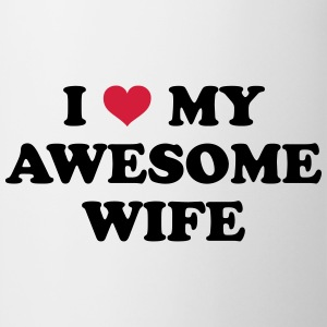 I Love My Wife T-shirts - Mugg