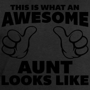 Awesome Aunt Looks Like T-Shirts - Men's Sweatshirt by Stanley & Stella