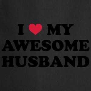 I Love My Husband  Hoodies & Sweatshirts - Cooking Apron