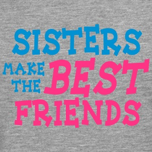 sisters make the best friends 2c Sweat-shirts - T-shirt manches longues Premium Homme