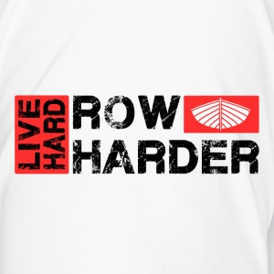 Live hard row harder drinks bottle - Men's Premium T-Shirt