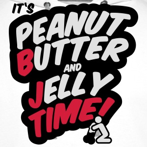 Peanut butter and jelly time, blowjob Tee shirts - Sweat-shirt à capuche Premium pour hommes